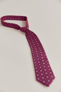 Pedro del Hierro Jacquard medallions tie Pink