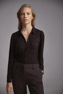 Pedro del Hierro Jersey shirt Black