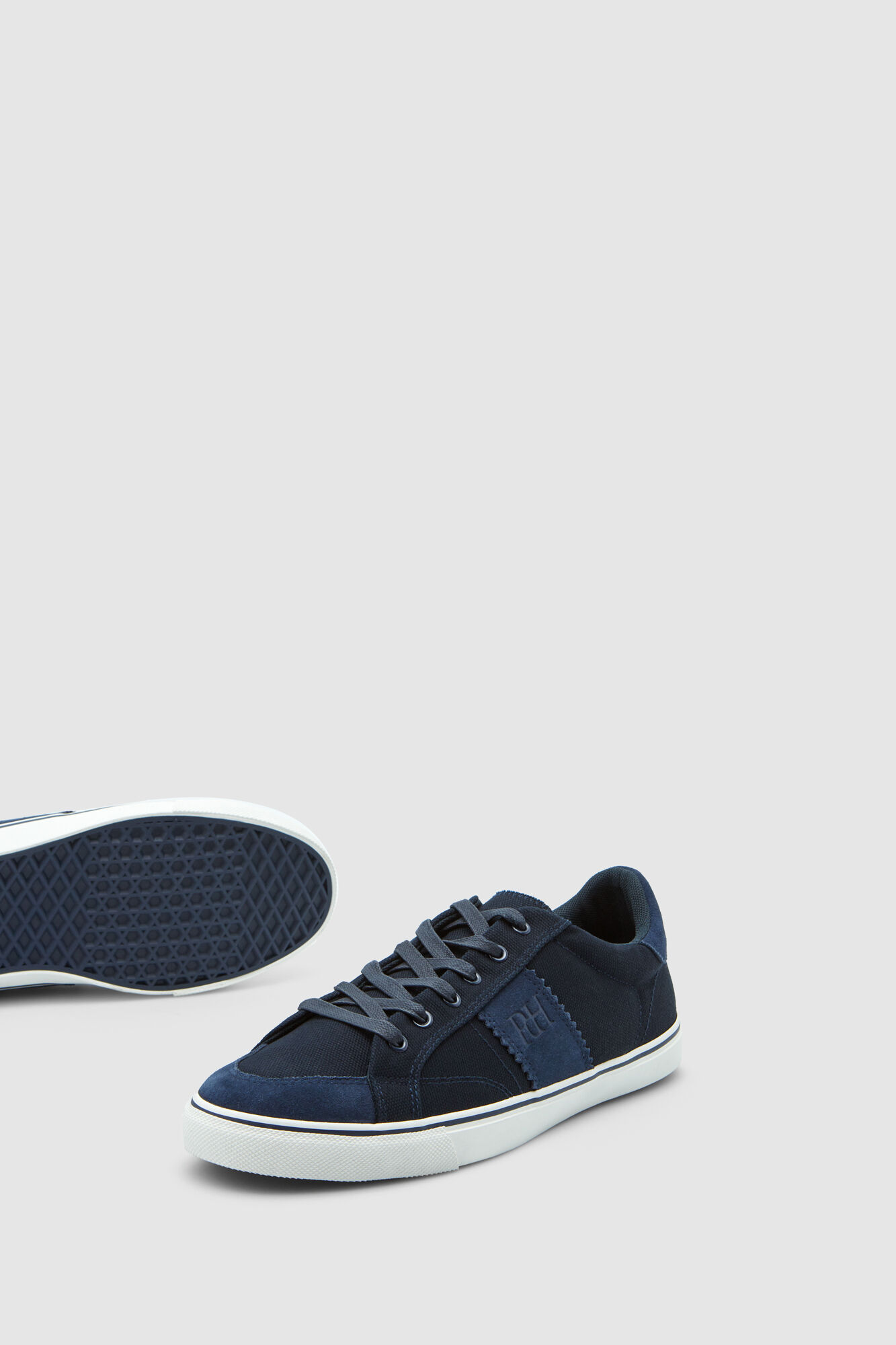 3ba93c7595be Pedro del Hierro Canvas and leather sneakers Blue
