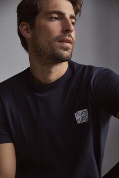 Pedro del Hierro PdH logo t-shirt Blue