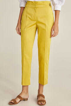 Pedro del Hierro Pleated waistband trousers Several