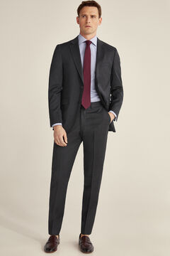 Pedro del Hierro Grey slim fit trousers Grey