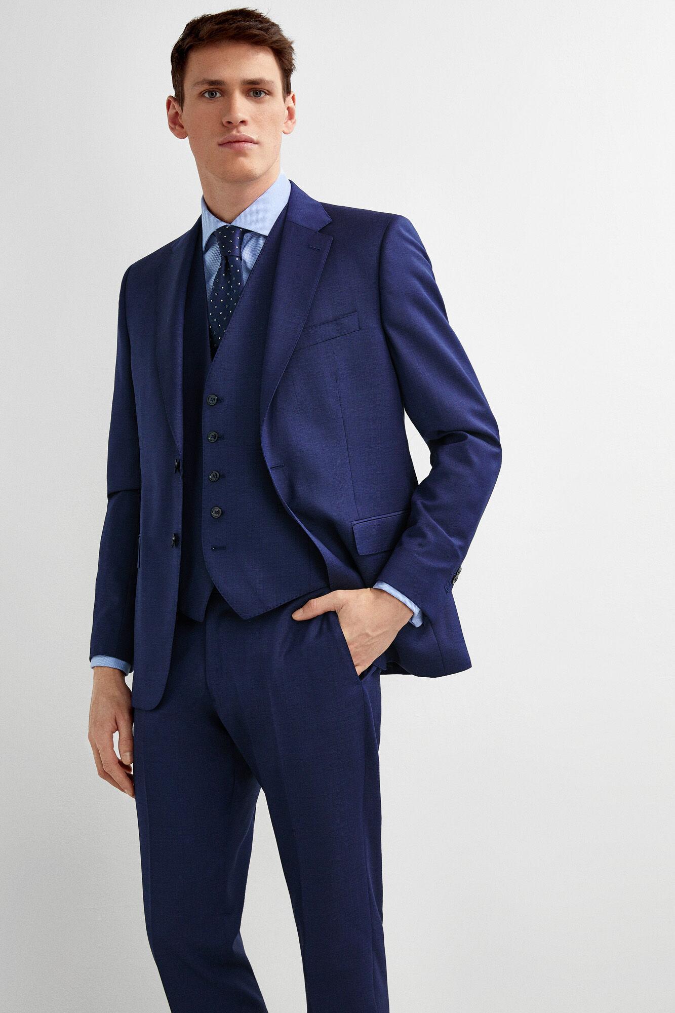 a6564752d2 Pedro del Hierro Chaleco traje azul tailored fit Azul