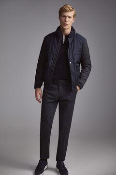 Pedro del Hierro Combined jacket Blue