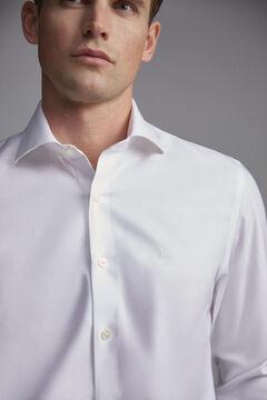 Pedro del Hierro Camisa de vestir tech-non iron lisa classic White