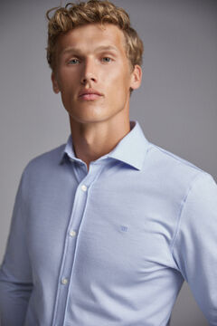 Pedro del Hierro Long-sleeved shirt Blue