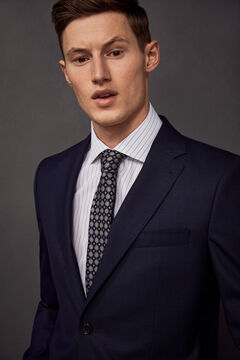 Pedro del Hierro Tailored fit suit blazer Blue