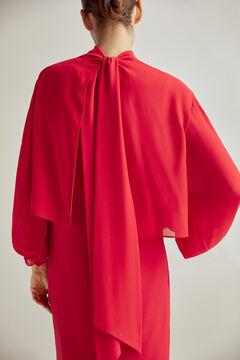 Pedro del Hierro Vestido multiposições Vermelho