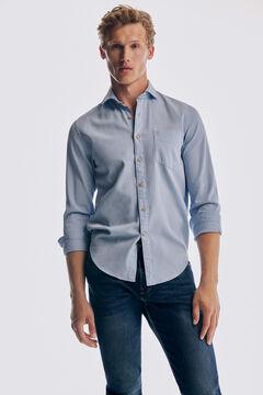 Pedro del Hierro Regular fit medium wash Premium Summer Flex jeans Blue