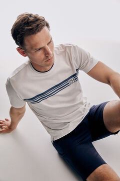 Pedro del Hierro Short sleeve t-shirt White