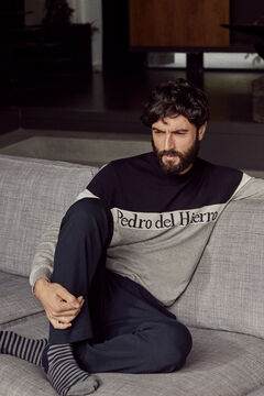 Pedro del Hierro Crew neck jumper Grey