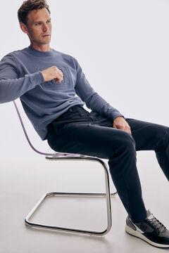 Pedro del Hierro Regular fit Premium Flex chinos Blue