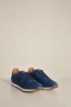 Pedro del Hierro New icon sneaker with rubber sole Blue