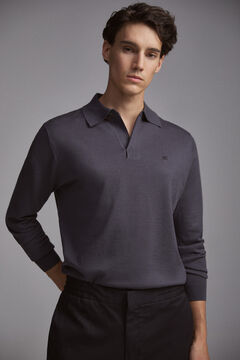 Pedro del Hierro Polo-neck jumper Grey