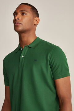 Pedro del Hierro Essential short-sleeved polo shirt Green