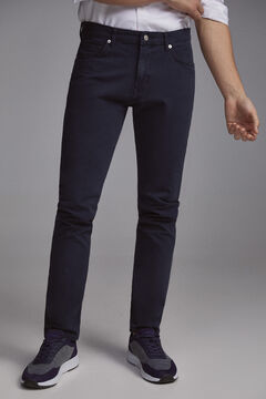 Pedro del Hierro Pantalón vaquero premium flex 5 bolsillos color slim Blue