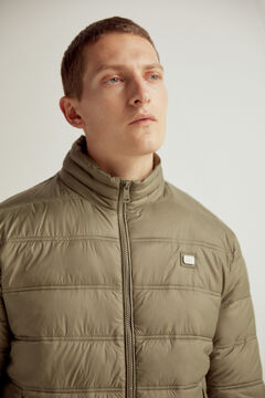 Pedro del Hierro Ultralight quilted jacket Grey