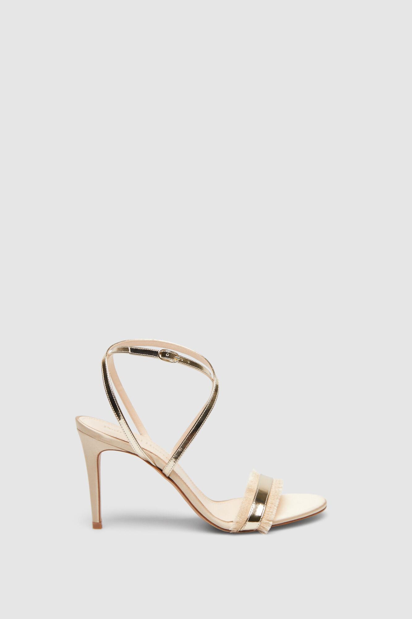 be193285e51d0 Gold heeled sandals