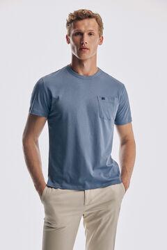 Pedro del Hierro Short sleeve t-shirt Burgundy