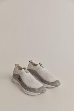 Pedro del Hierro Sneaker slip-on reciclado Branco