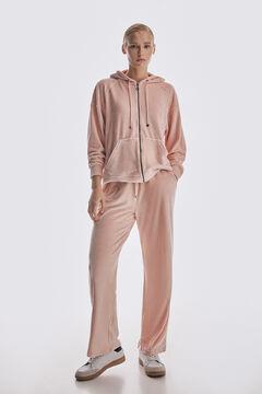 Pedro del Hierro Velvet culottes Pink