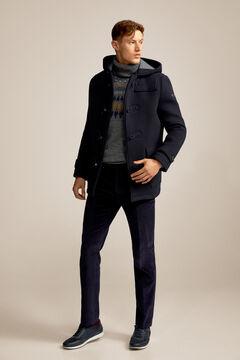 Pedro del Hierro Duffle coat Blue