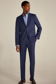 Tailored fit houndstooth suit set