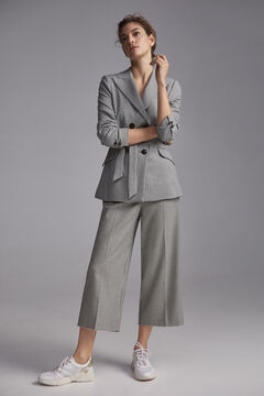 Houndstooth suit set