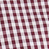 Pedro del Hierro Checked Tech Non-Iron cotton shirt Red